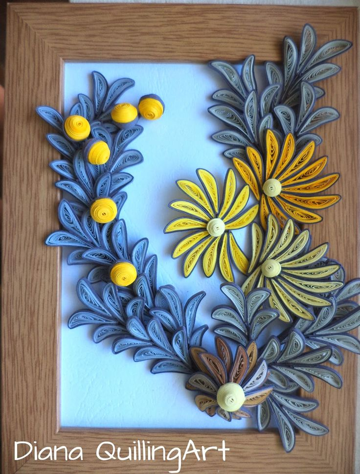 If you wanna buy one of my creations,contact me at diana.quillingart@yahoo.com or at my facebook page Diana Quilling Art