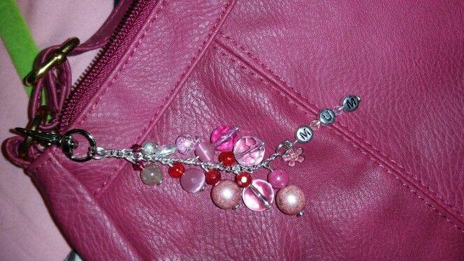 personalised bag charm