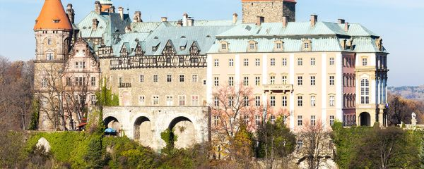 Książ castle in Poland From Apgmbc