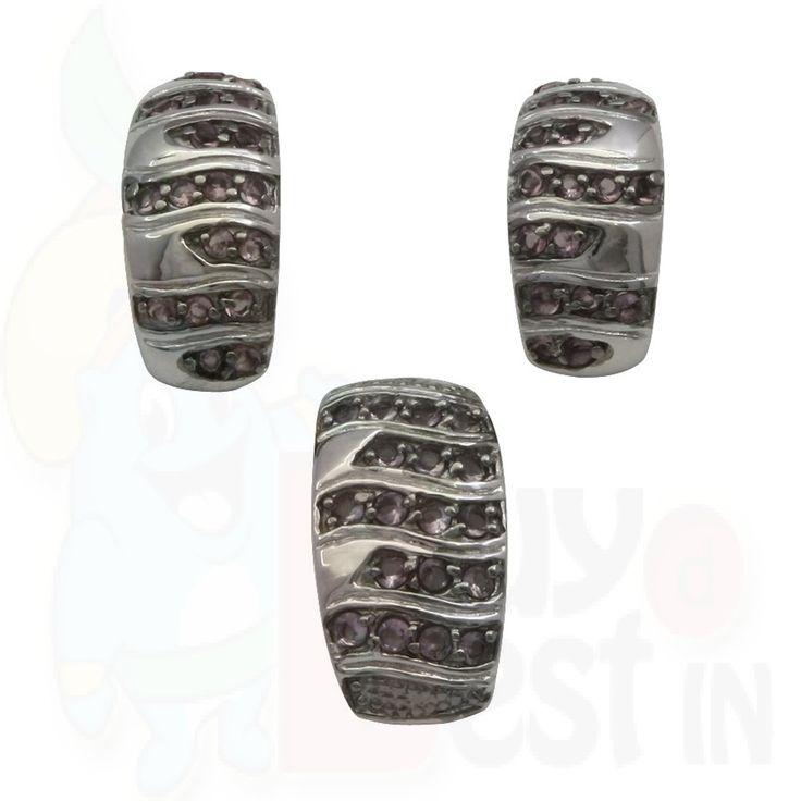 BuyDBest Earring  Pendant OEP-00597 White