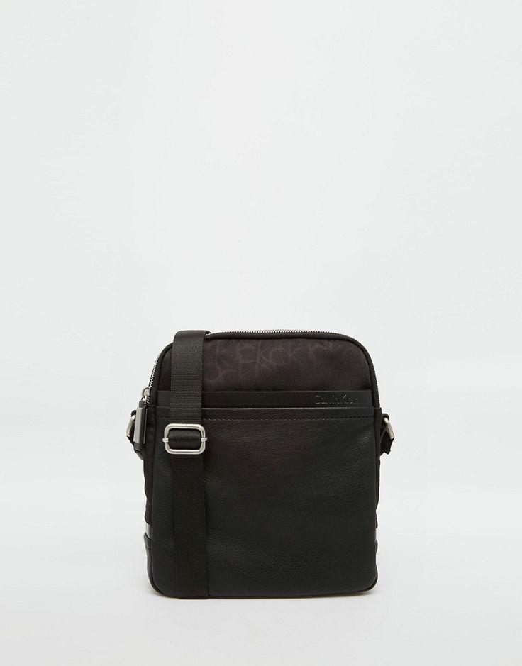 Calvin+Klein+Tom+Logo+Messenger+Bag
