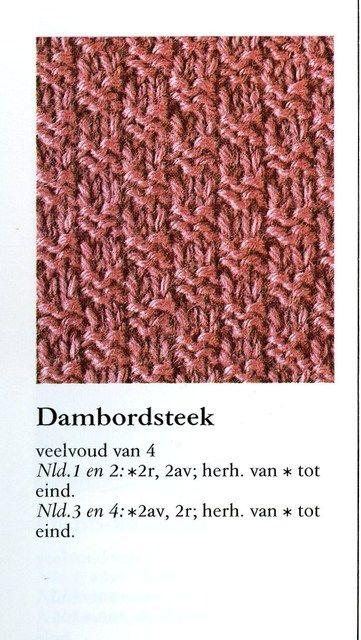Dambordsteek 001 - Breisteken