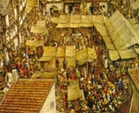 Steden in de middeleeuwen