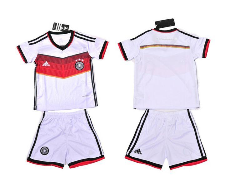 Germania Maglie Calcio Mondiali 2014 Bambini Set Casa