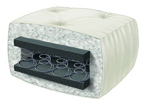Serta Cypress Duct Cotton Full Futon Mattress, Khaki