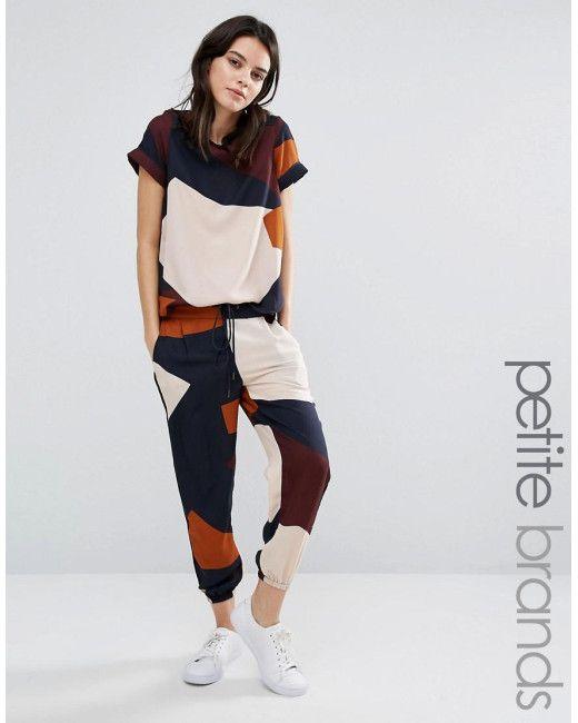 Vero Moda | Multicolor Colourblock Track Pant | Lyst
