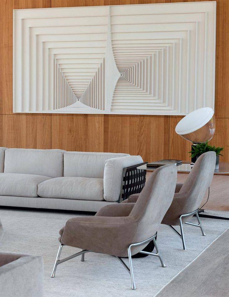 Roberto Migotto considera esta casa seu melhor projeto de 2015. A vista para o campo é um dos atrativos