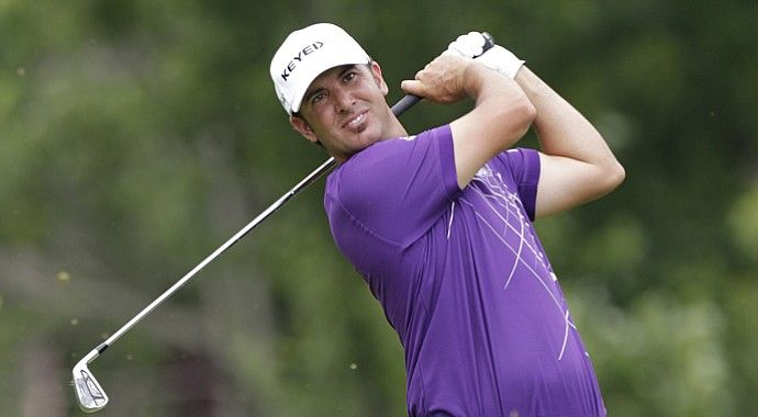 Scott Piercy during the first round of the 2013 Memorial on the PGA Tour.