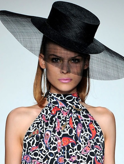 House of Flora Millinery for PPQ Spring/Summer 2013