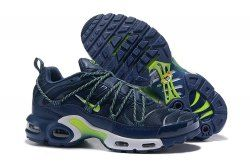52958b3ece9030 Drake Reveals A Custom Nike Air Max Plus For Stage Use TN Navy Blue Green  Men s Running Shoes Sneakers
