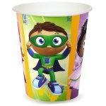 Super Why! 9 oz. Paper Cups