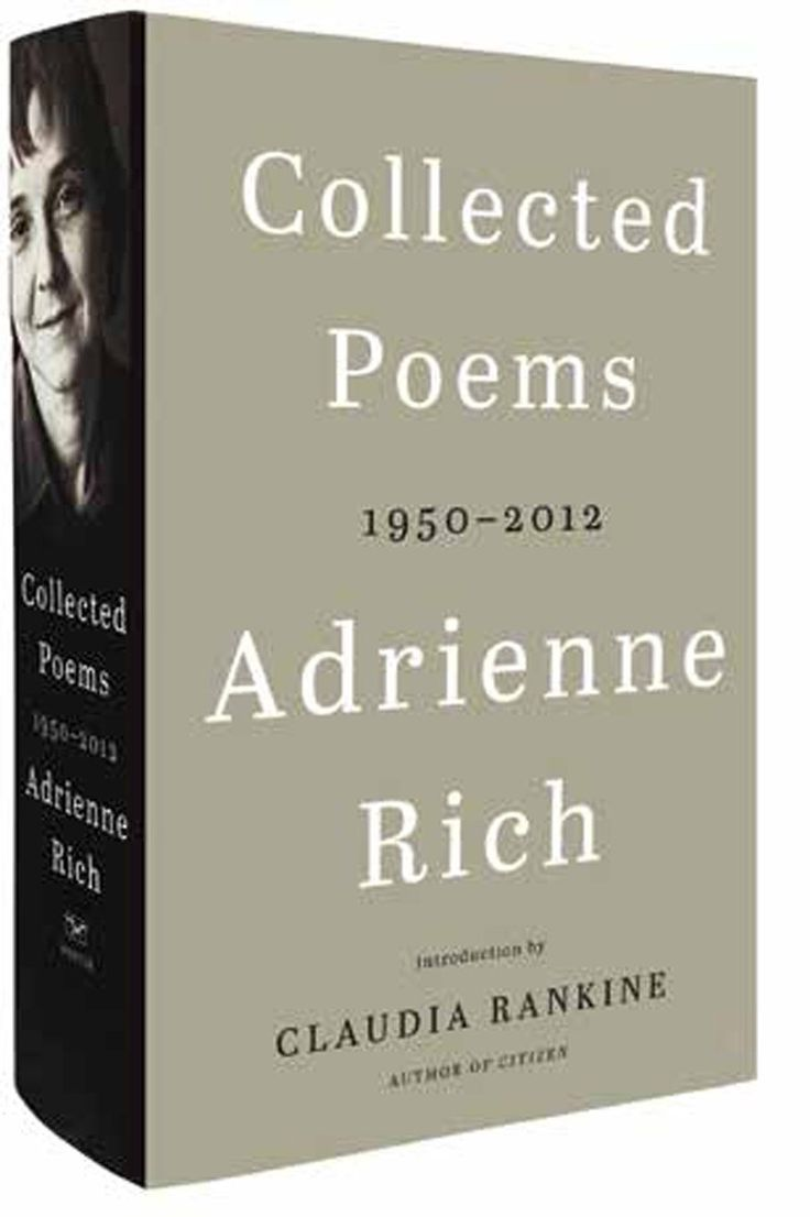 Collected Poems 1950 2012 Adrienne Rich Hardback April
