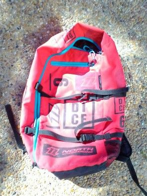 Aile North Kiteboarding DICE 6 m² 2016 d'occasion complète