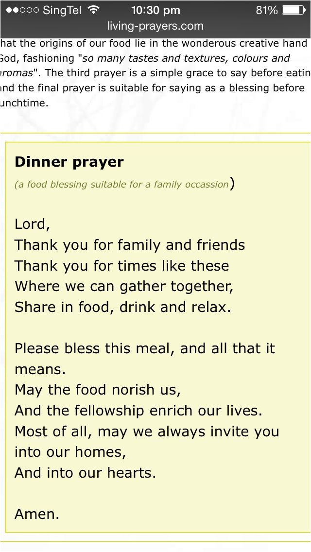 Catholic Wedding Reception Prayer Before Meal Inspirational