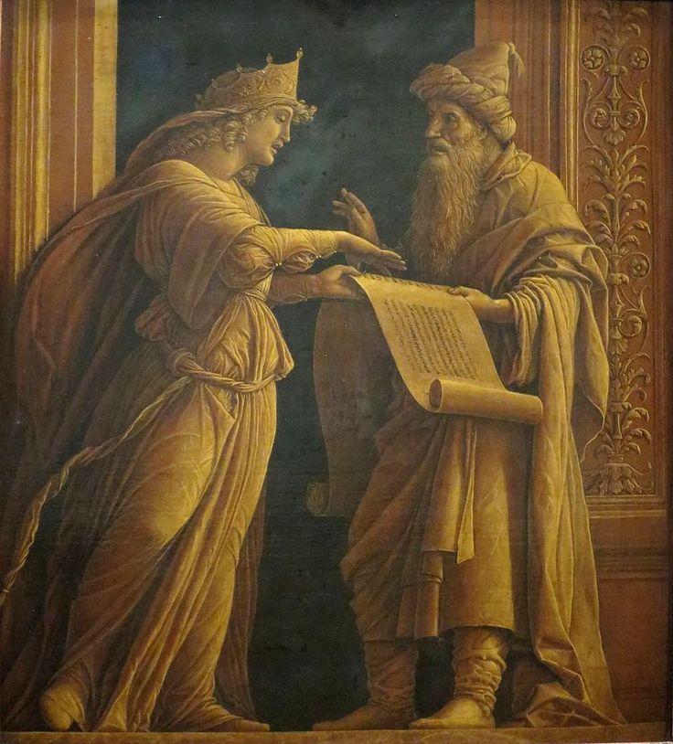 72. 1495-1500 - Sibilla e profeta - Cincinnati, Cincinnati Art Museum