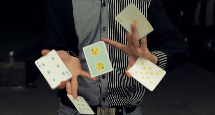 Check these incredible smooth card shuffling tricks. #YouTube