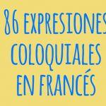 expresiones coloquiales frances