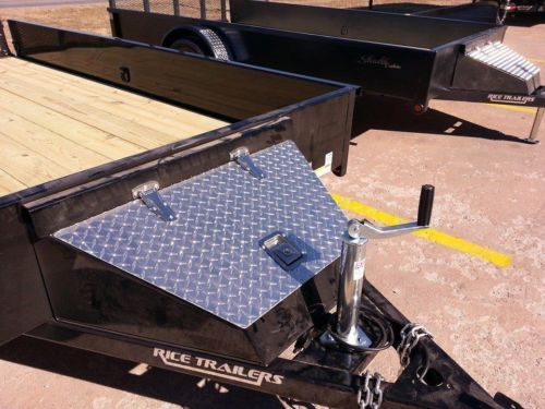 Structural trailer tool box.
