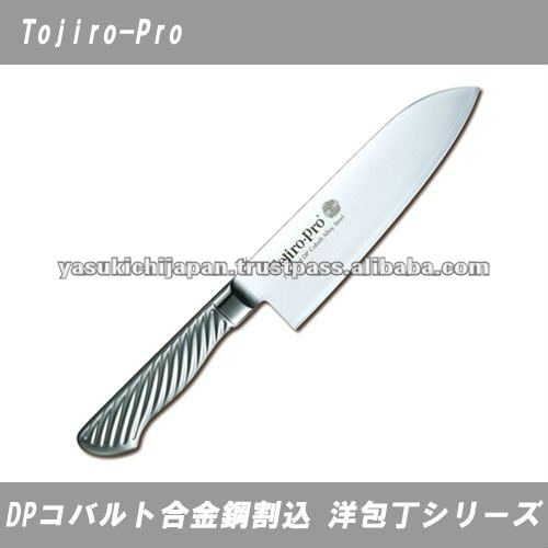 vg10 santoku knife tojiro dp cobalt alloy f 895 made in japan japanese knife pinterest. Black Bedroom Furniture Sets. Home Design Ideas