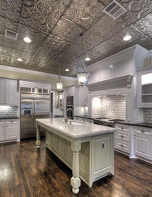Best 25+ Tin ceiling kitchen ideas on Pinterest | Tin ...