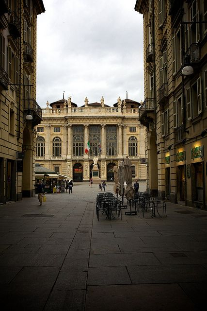 Torino - Da via Garibaldi, Palazzo Madama