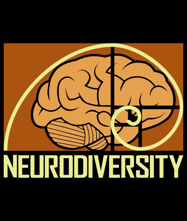Neurodiversity v2.0 Babydoll T-shirt (also in unisex and kids!) in support of Autistic Self Advocacy Network during Autism Acceptance Month