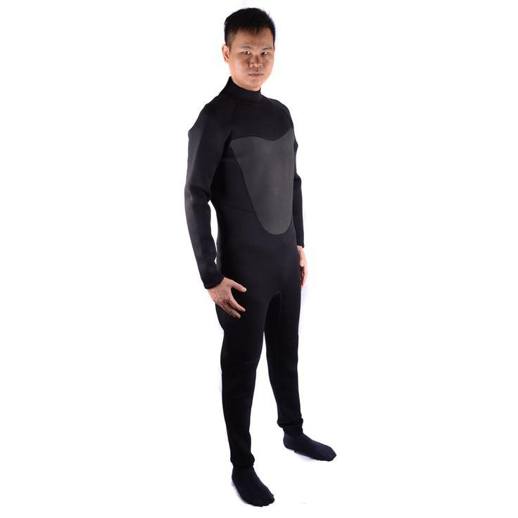 Herren Neopren 3mm Tauchen Neoprenanzug Speerfischen Neoprenanzug Surfen Tauchen Schwimmen Ausrüstung Speerfischen Overall Zubehör