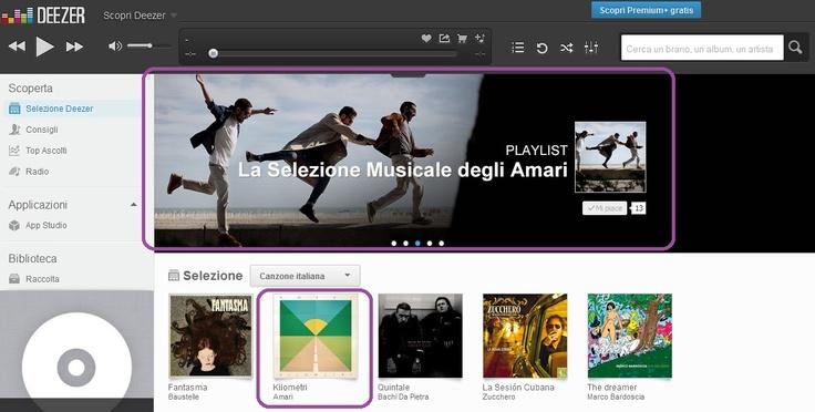 Scopri la Playlist firmata dagli Amari su Deezer: www.deezer.com/it/playlist/177850141! Disponibile in streaming l'ultimo album KILOMETRI: www.deezer.com/it/album/6182912!