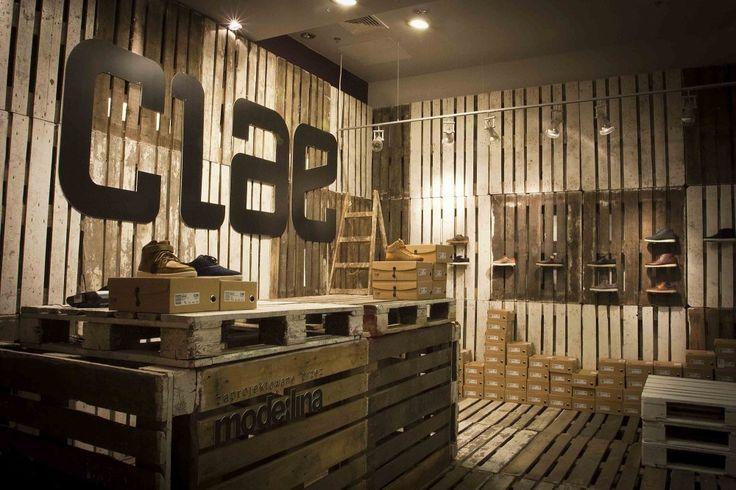 Marzua: Tienda Temporal Clae por mode:lina architekci