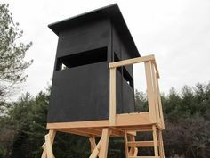 Tower deer stand project