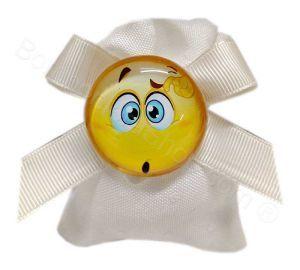 Emotion con magnete confezionato su sacchettino