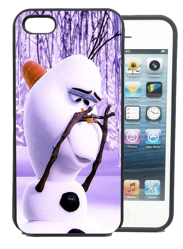 Coque iPhone et Samsung Olaf Elsa La Reine des Neiges Frozen Disney Bumper Apple