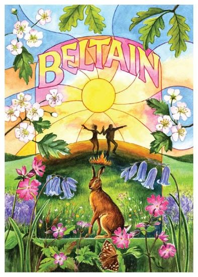 Beltane (or Beltain) is a Gaelic festival. The name Beltane means bright fire or