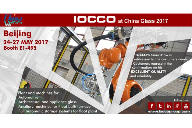 China Glass 2017 Beijing Booth 24-27 MAY