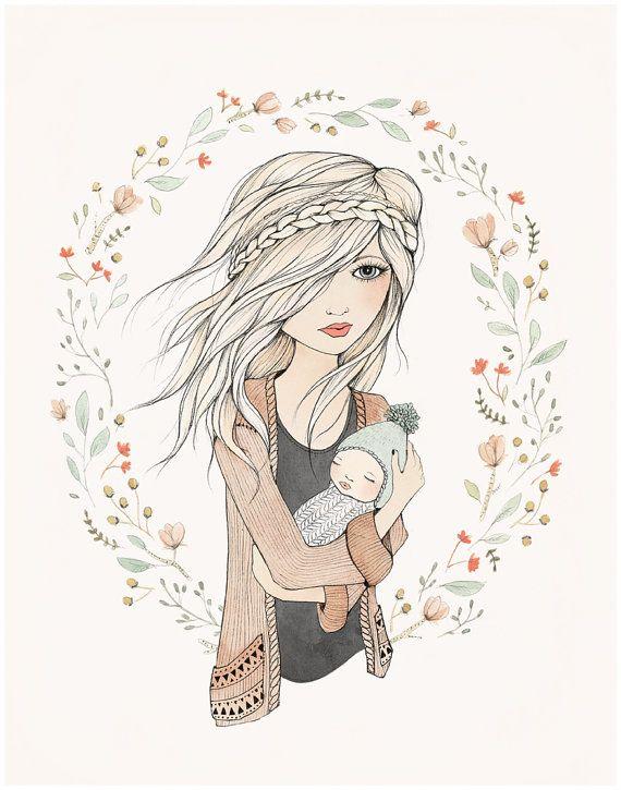 MOTHER'S LOVE - 11X14 fine art print