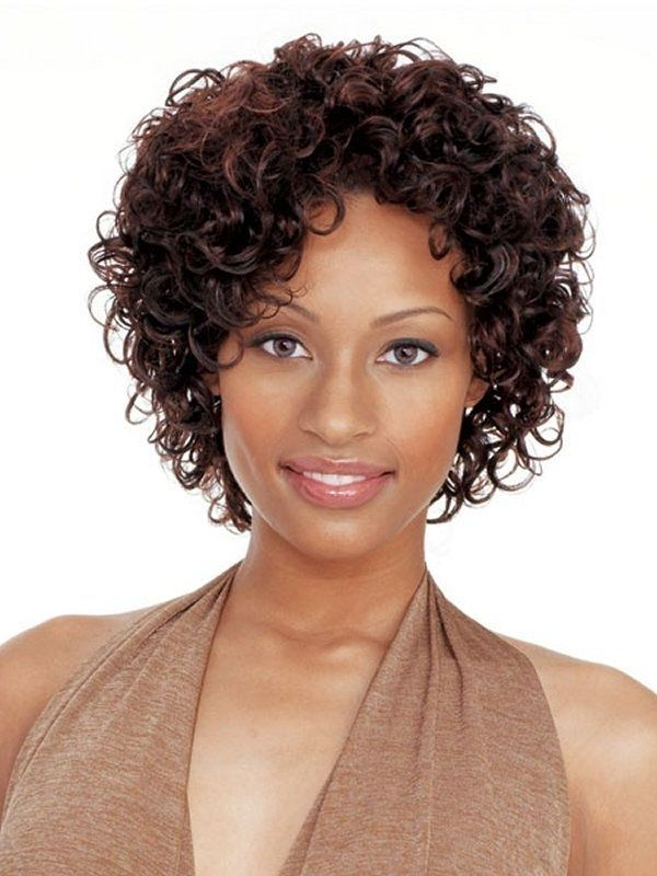 Short Curly Weave Hairstyles black short curly weave hairstyles Short Curly Weave Hairstyles Hair Pinterest Curly Weaves Short
