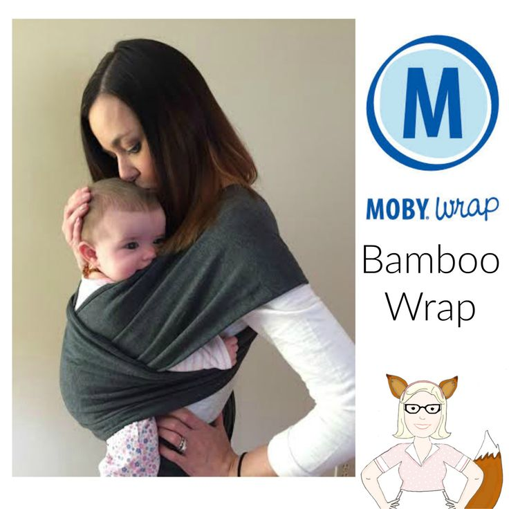 New Bamboo Moby Baby Wrap