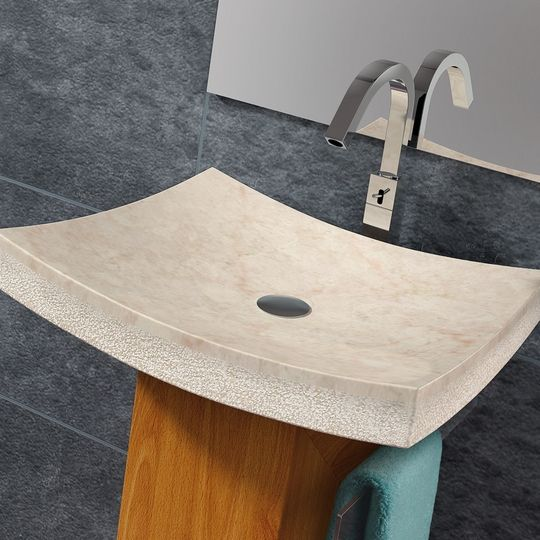 Arrecife Natural Stone Vessel Sink Will Transform Your Bathroom To A Contemporary And Elegant Space