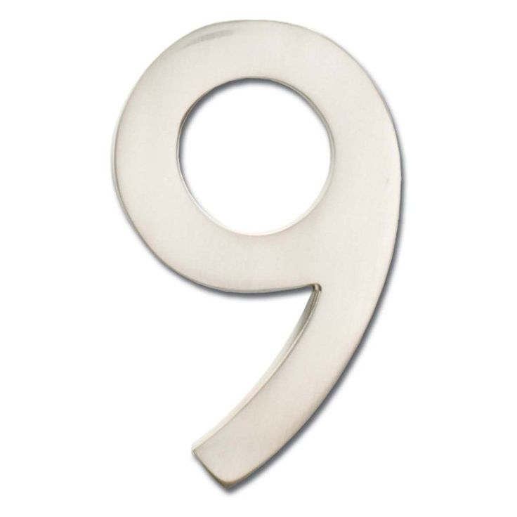 Architectural Mailboxes 4 in. Floating House Number - 3582AB-0