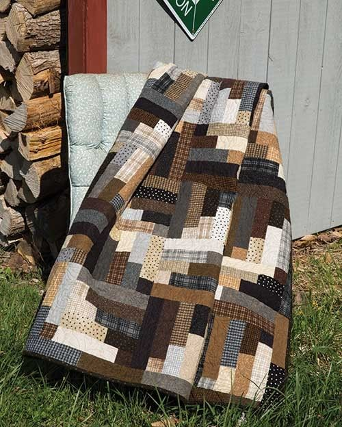 Espresso Road Quilt Pattern | Keepsake Quilting                                                                                                                                                     More
