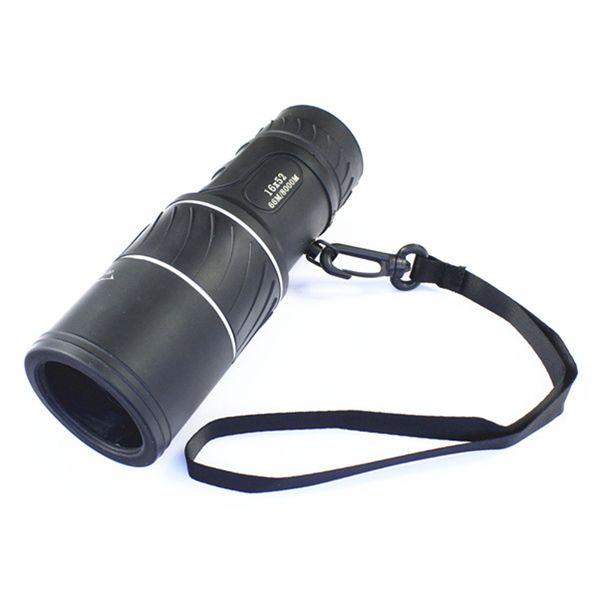 ユニバーサル16X52ハイキングコンサートカメラレンズ単眼望遠鏡