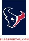 """Texans Mini Flag 15"""" x 10 1/2"""""""