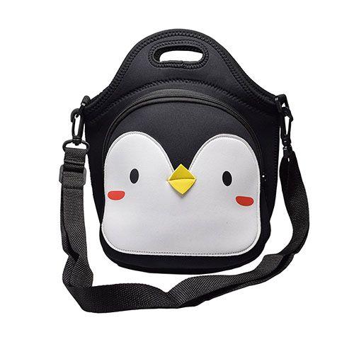 MOT Global Penguin Insulated Neoprene Lunch Bag - BestProducts.com