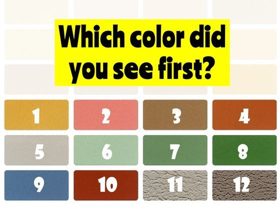 For each image, choose the color you see first.
