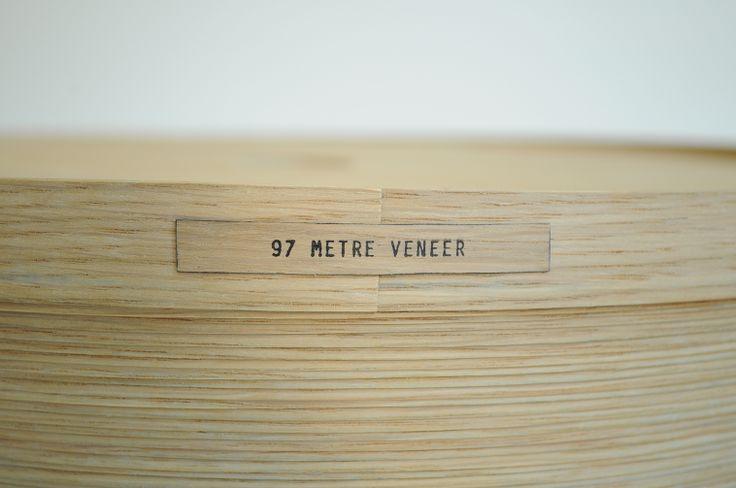 97 Meter Veneer by mischer'traxler