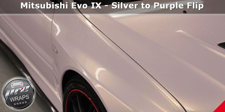 12345 190 on mitsubishi evo ix silver to purple flip pinterest