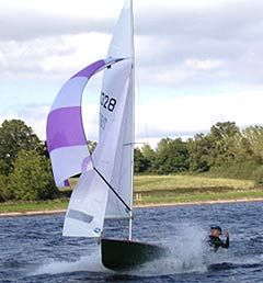 The General Purpose (GP) 14 sailing dinghy - the boat I learned how to sail on.