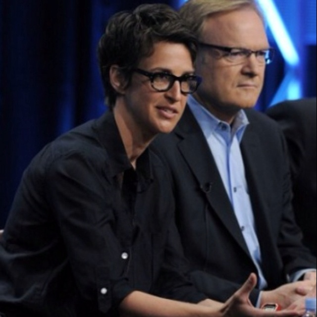 Rachel Maddow msnbc--A brilliant woman, so much so, MsNBC had better be nice to her !!!!