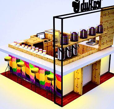 FacStore| Quiosque para Shopping Tea Hub