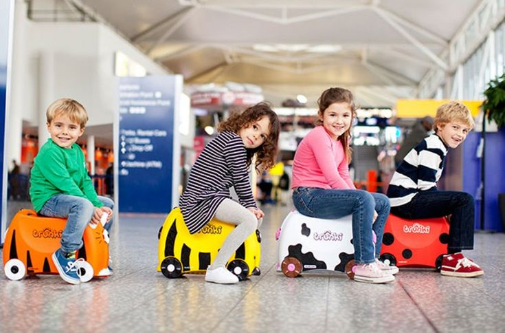 Trunki Kids Luggage - luggage.co.nz blog!